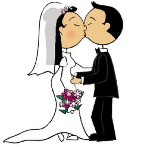 Wedding clip art reception. Bridal clipart cute
