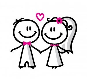 A clipart wedding. Clip art images for