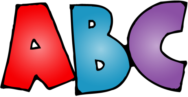 Abc clipart. Alphabet free clipartoons cliparts