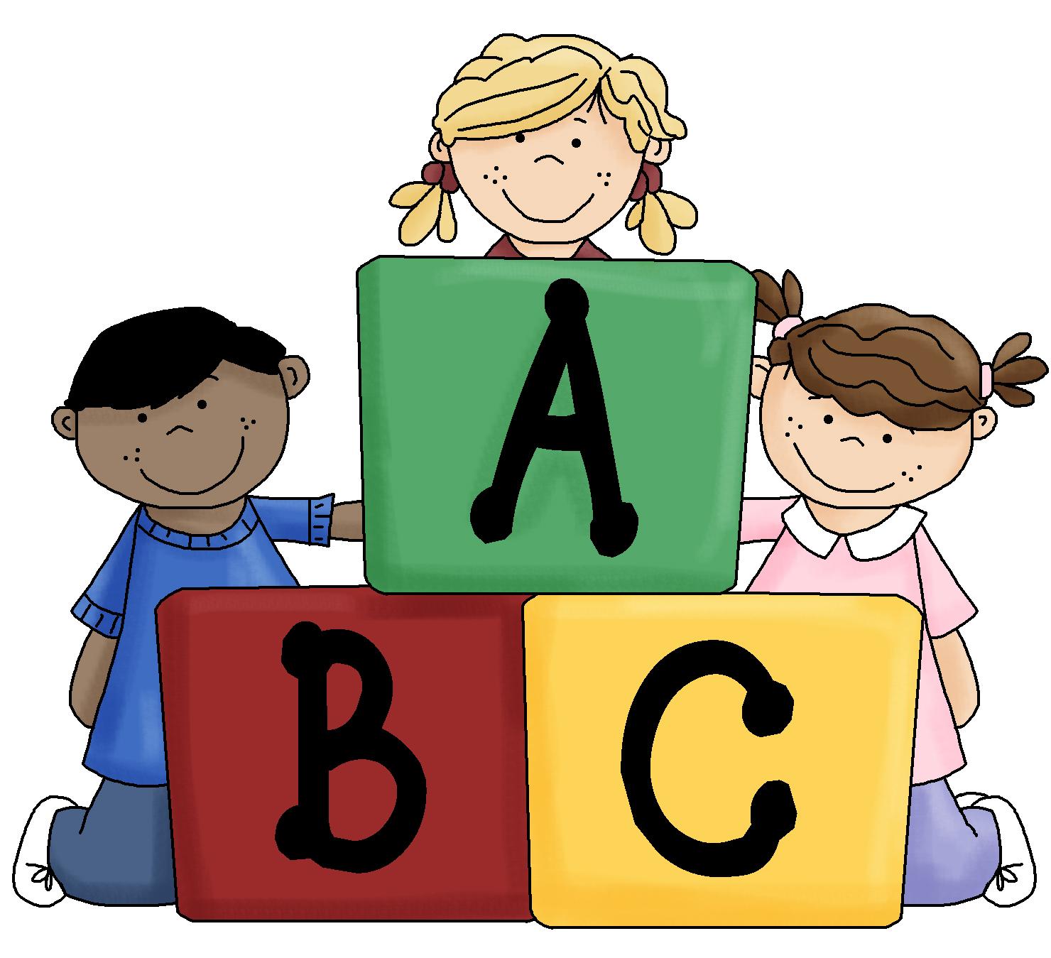 Abc blocks kid clipartix. Block clipart cute