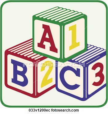 Abc clipart abc blocks. Clip art bay