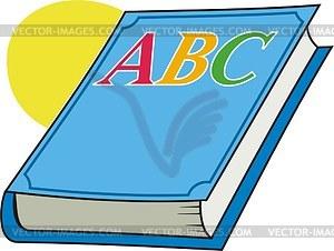 . Abc clipart abc book