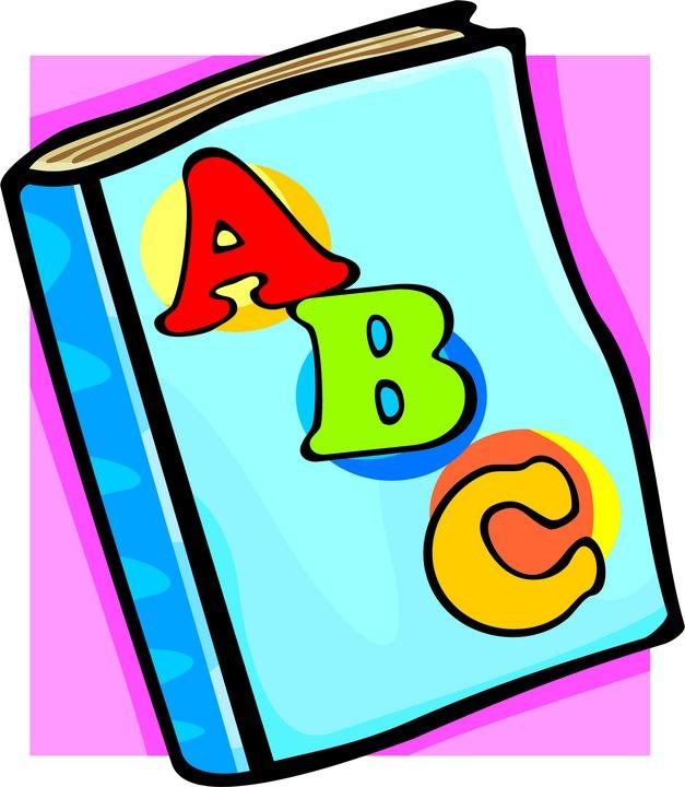 Abc clipart abc book.