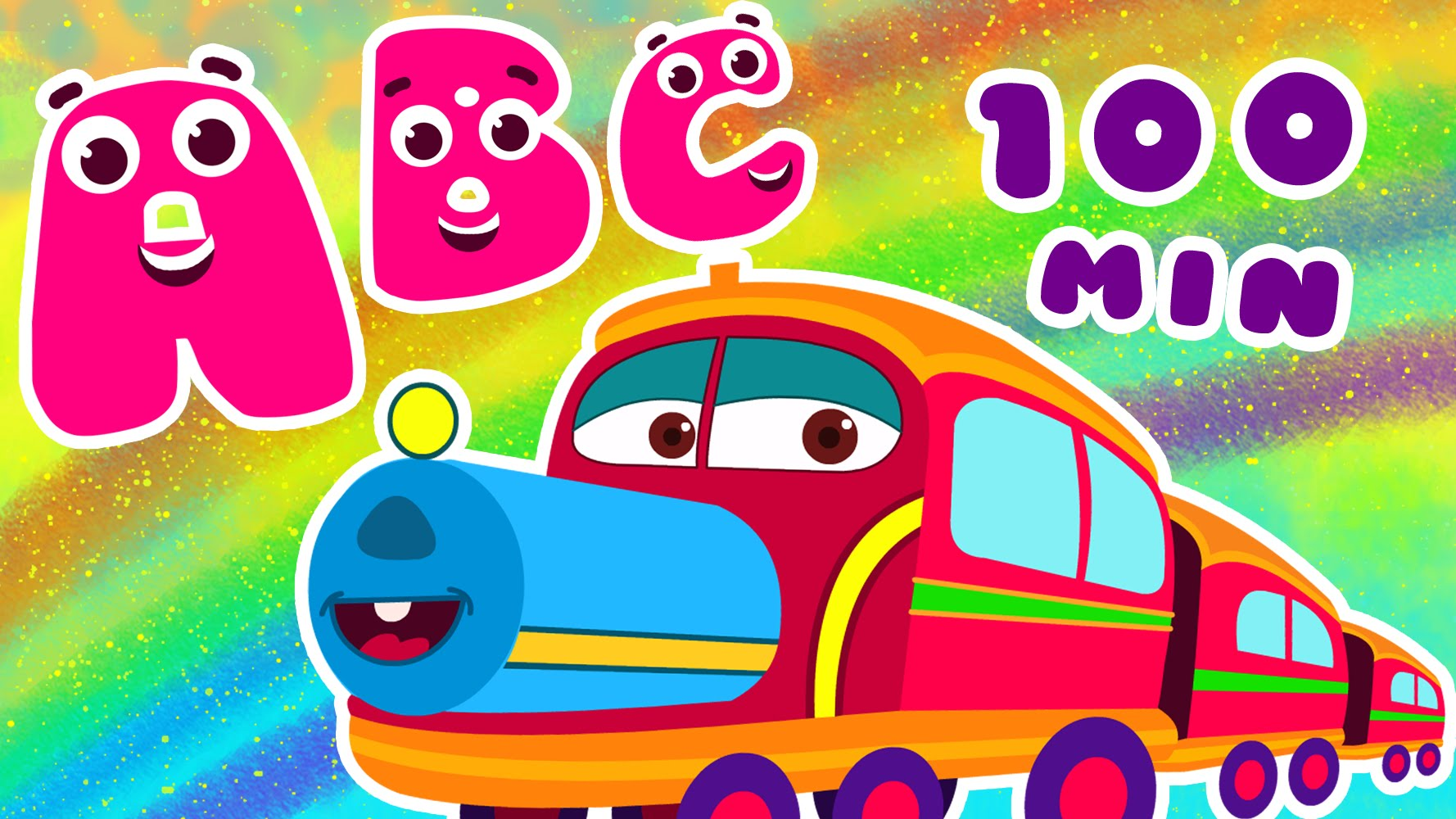 Train songs for children. Abc clipart abc song