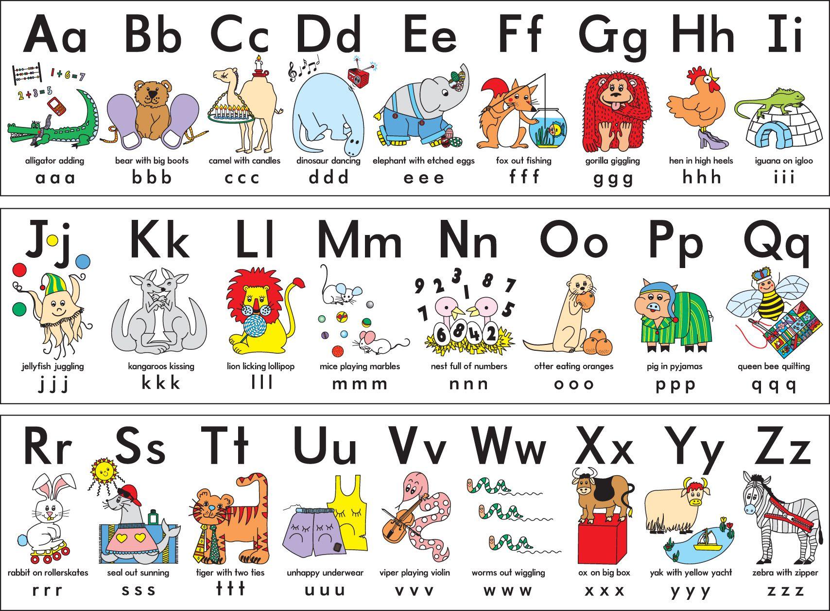 Abc clipart alphabet. Clip art letters of