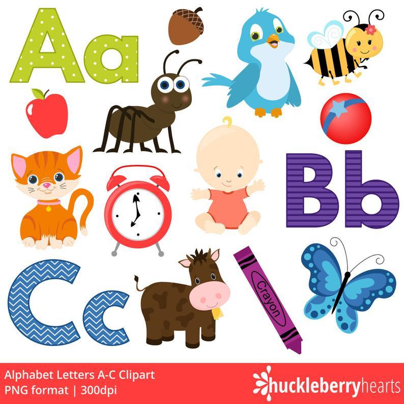 School letters printable commercial. Abc clipart alphabet