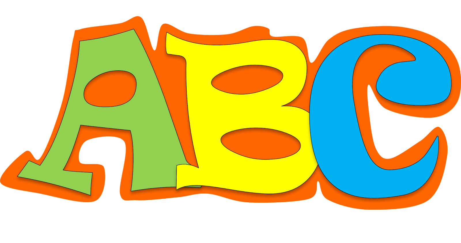 collection of abc. English clipart english alphabet