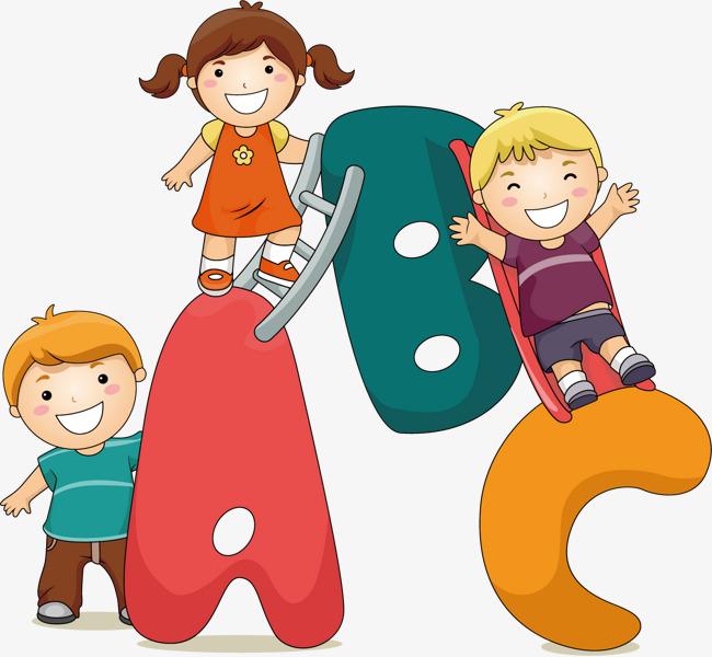 Abc clipart animated. Cartoon png vectors psd