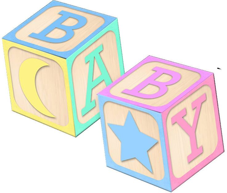 Blocks clipart baby girl.  best shower images