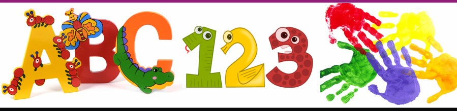 Pre school information special. Abc clipart banner