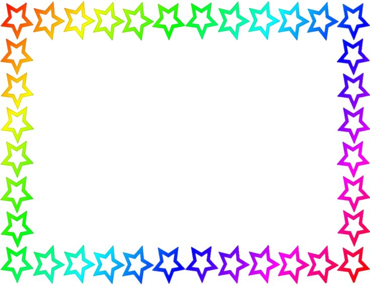 Abc free download best. Handprint clipart page border