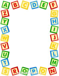 Abc clipart border. Printable use the in