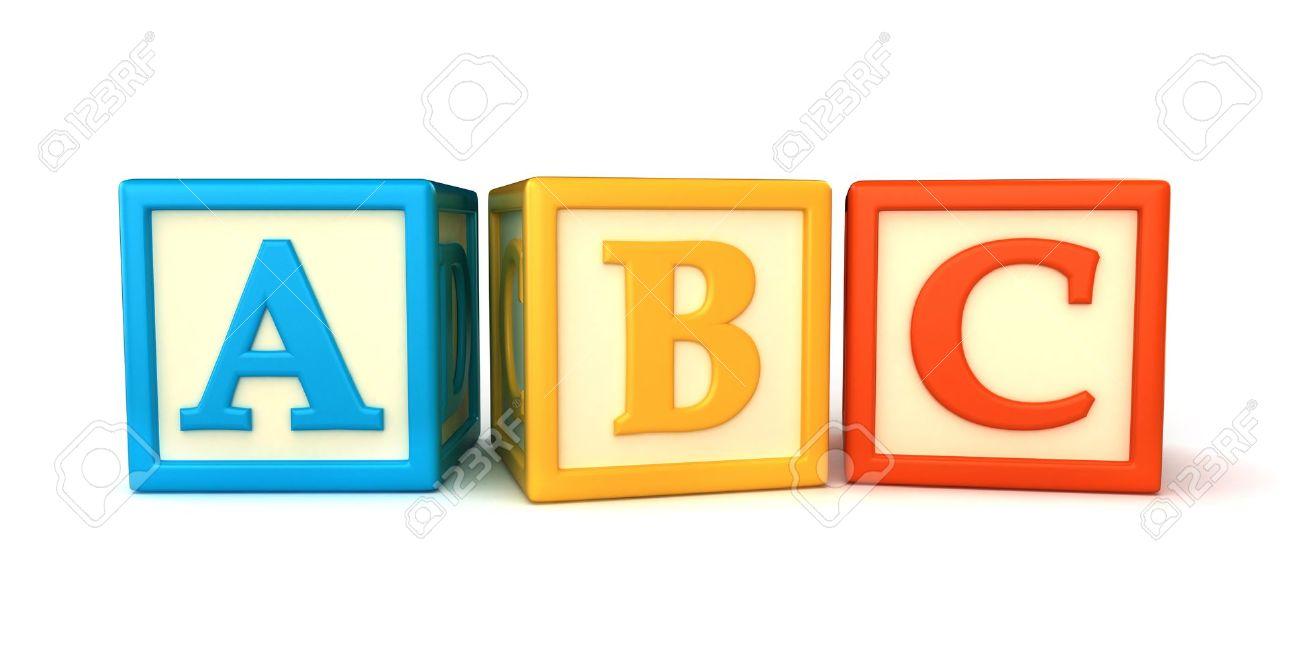 Block clipart abcd. Abc blocks drawing free