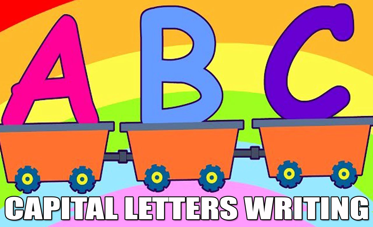 Abcd letters hd learn. Apples clipart capital letter