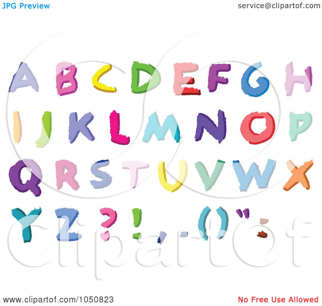 Letters . Abc clipart capital letter