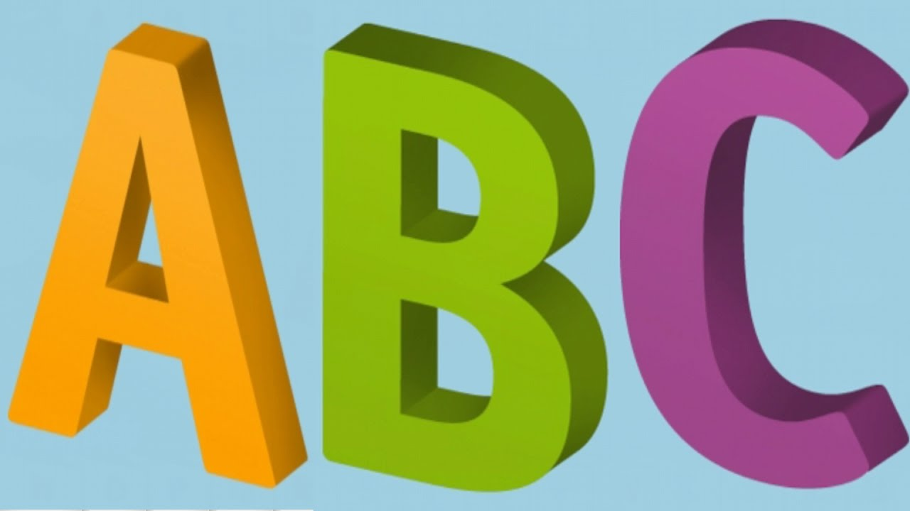 Learning with alpha tots. Abc clipart capital letter