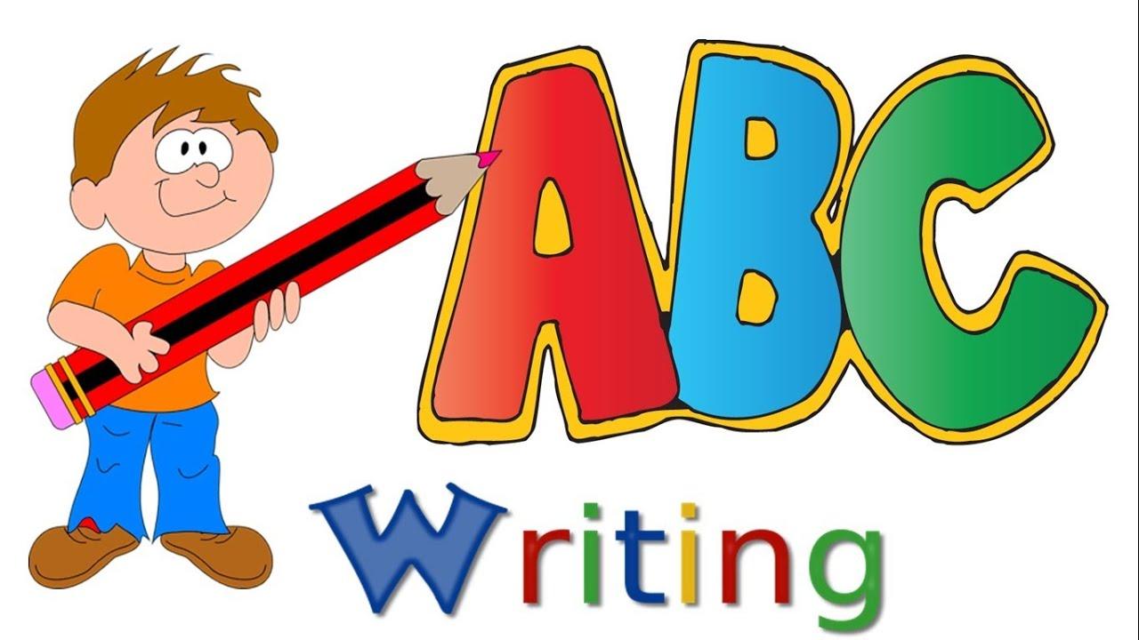 Writing alphabet letters upper. Abc clipart capital letter