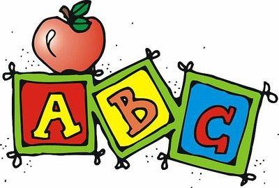 Abc clipart cartoon. Elementary school teacher clip