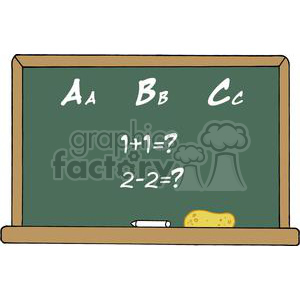 Royalty free school chalk. Abc clipart chalkboard