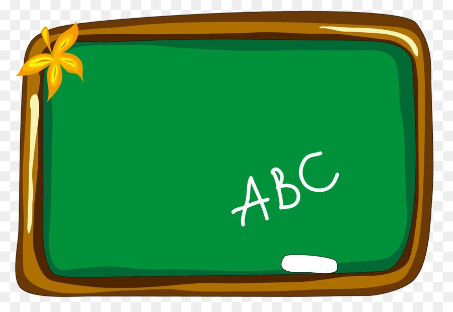 Cartoon blackboard green png. Abc clipart chalkboard