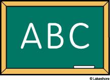 Cilpart lofty clip art. Abc clipart chalkboard