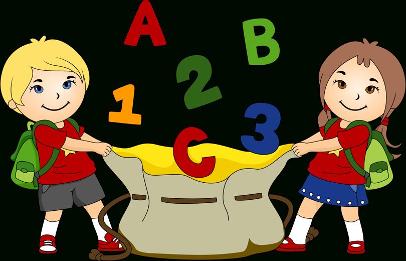 School children hindi worksheets. Abc clipart childrens