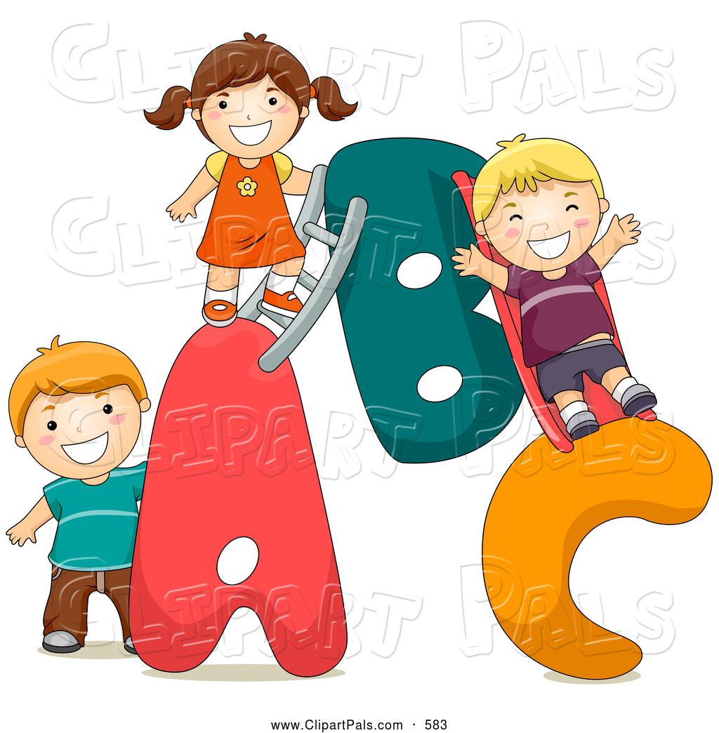 Free clip art children. Abc clipart childrens