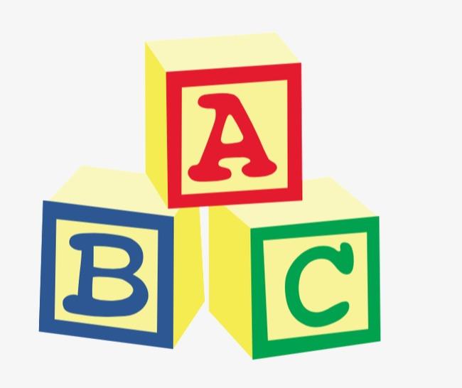 Abc blocks rubik s. Boxes clipart alphabet