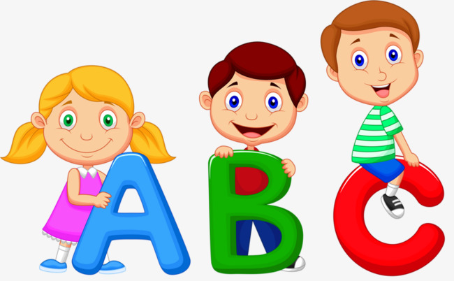 Abc clipart cute. Kids child letter play