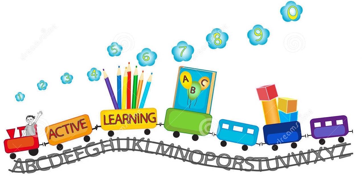 Abc clipart early childhood education. Preschool deer meadow primary