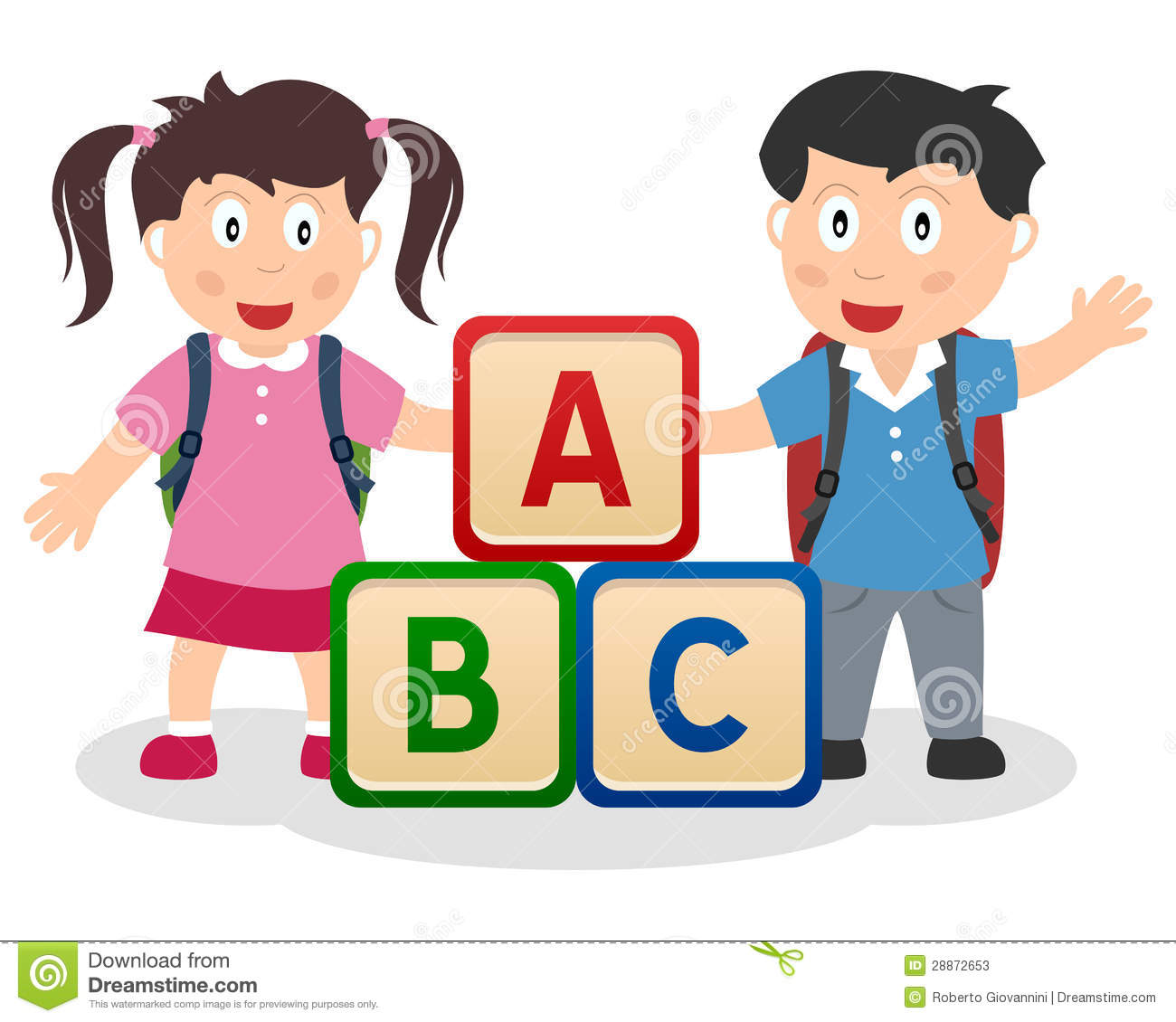 Abc clipart early childhood education. Kids learning image group