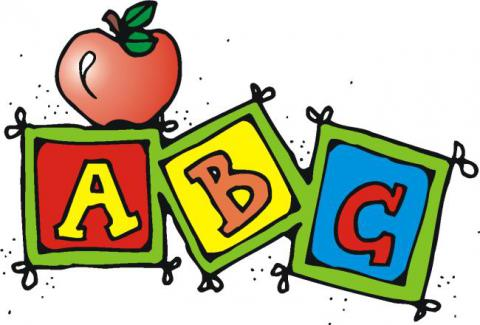 State preschool at field. Abc clipart early childhood education