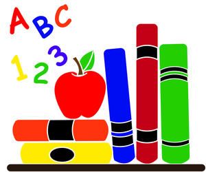 Apples clipart education. Chandra manns byron elementary