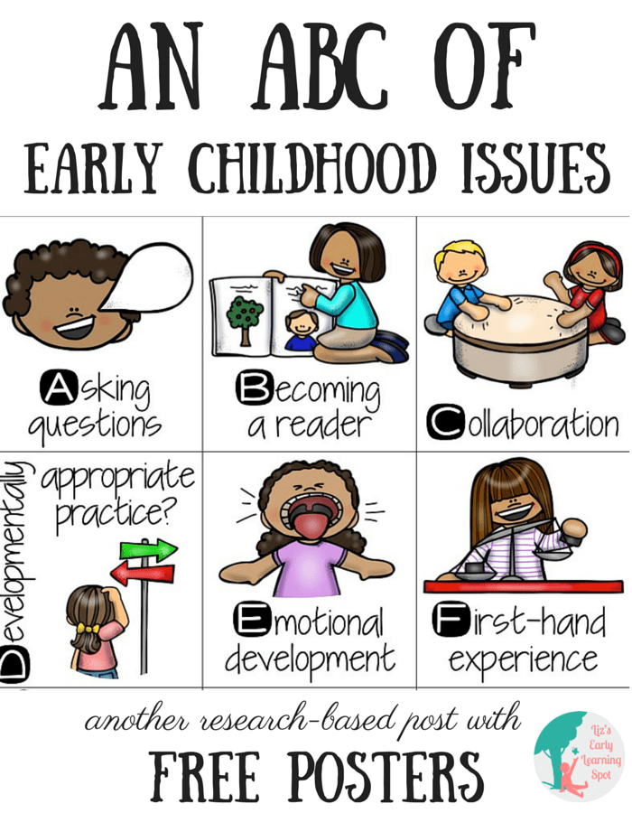 An of issues liz. Abc clipart early childhood education