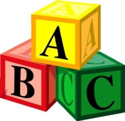 Class centers panda free. Abc clipart educational