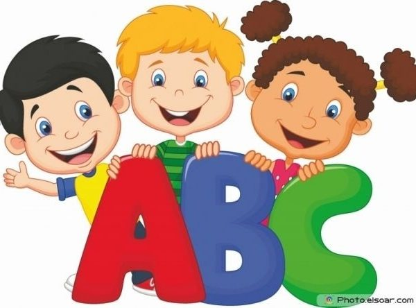Abc clipart educational. School kids with clip