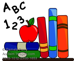 Clip art image of. Abc clipart elementary school