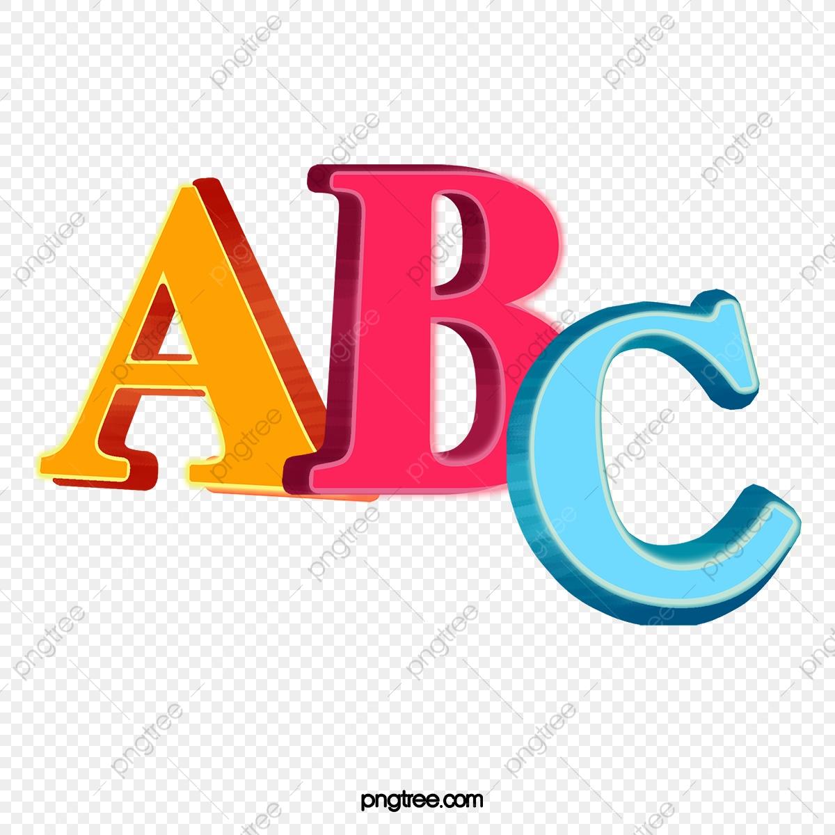 English clipart resource. Abc letter png transparent