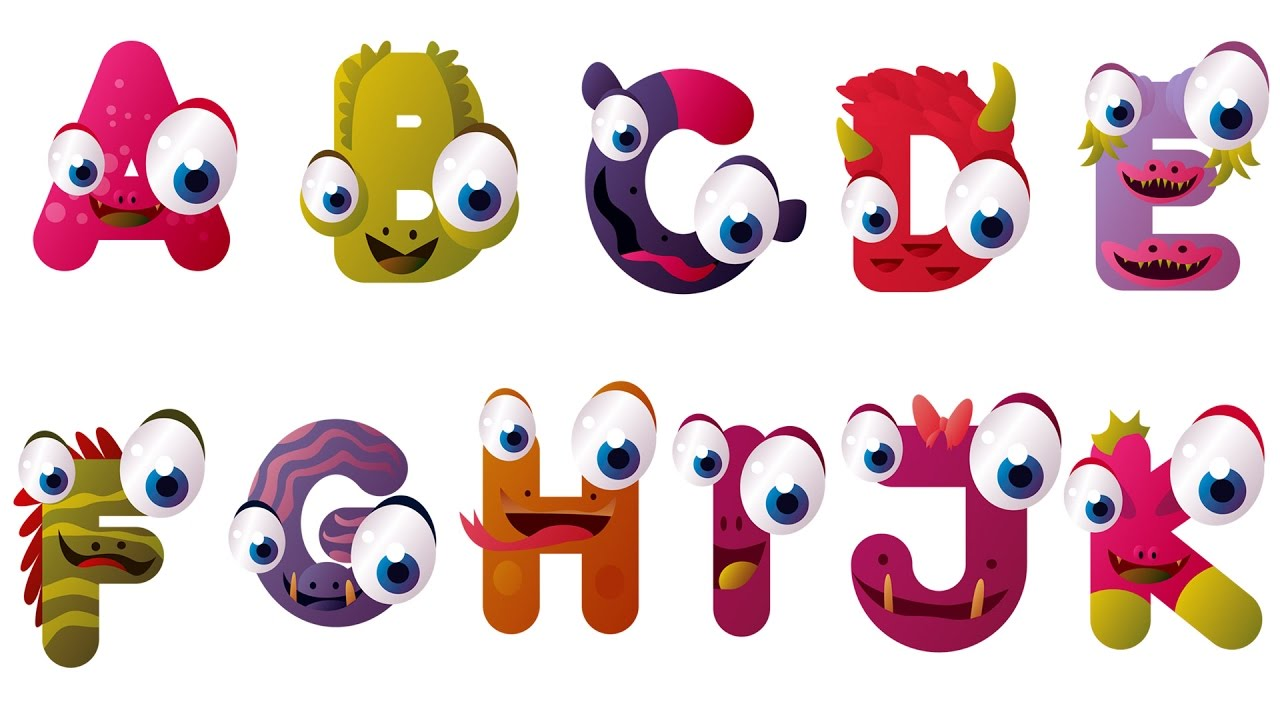 Learn alphabet letters learning. Abc clipart fun