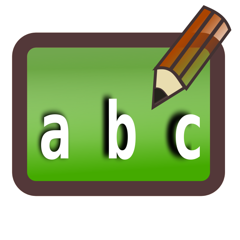 Education clipart basic education. Abc board