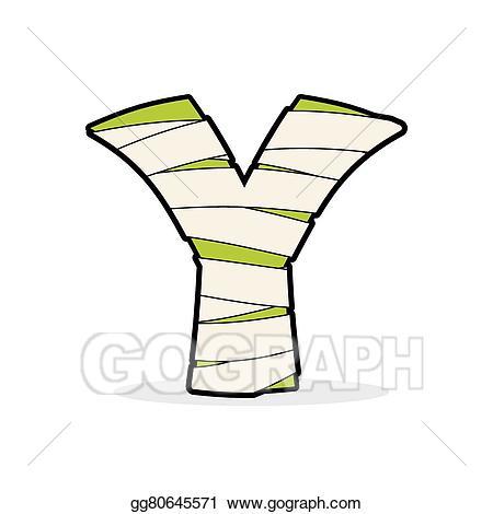 Eps illustration letter y. Abc clipart icon