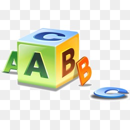 Blocks png vectors psd. Abc clipart icon