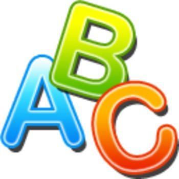 . Abc clipart icon