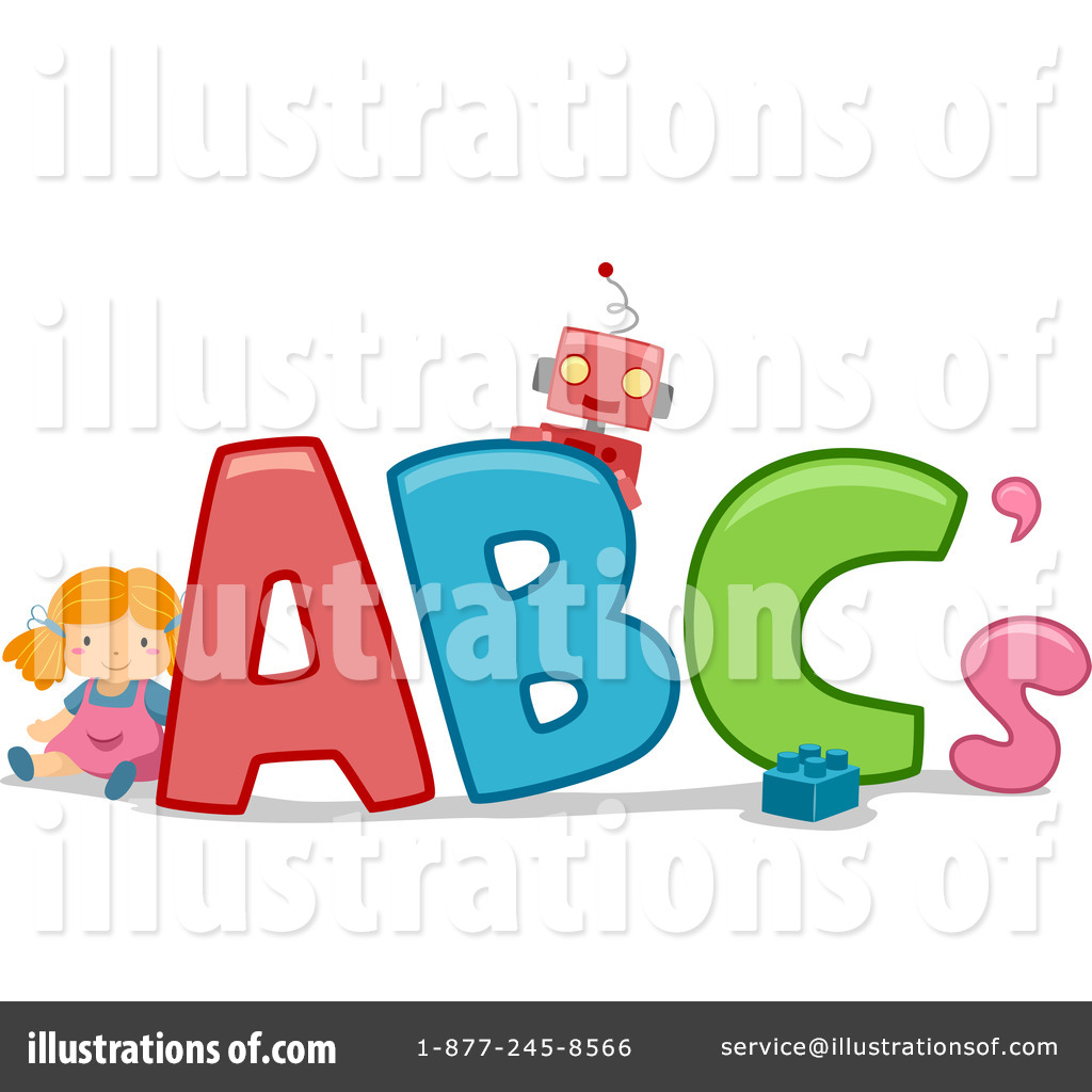 By bnp design studio. Abc clipart illustration