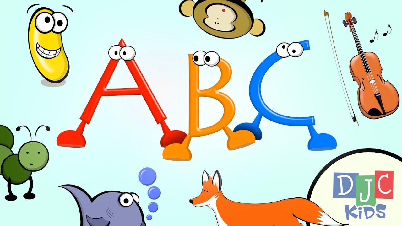 Abc clipart kindergarten. Learning video for children