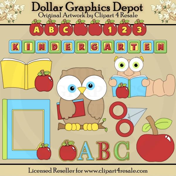 Clip art dgd exclusive. Abc clipart kindergarten