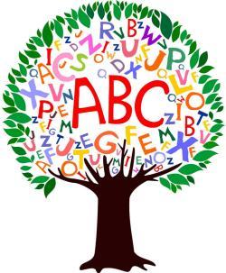 S of page notasulga. Abc clipart kindergarten