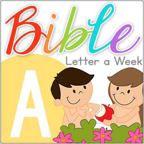 Bible curriculum notebook school. Abc clipart letter week