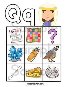 Bible of the q. Abc clipart letter week