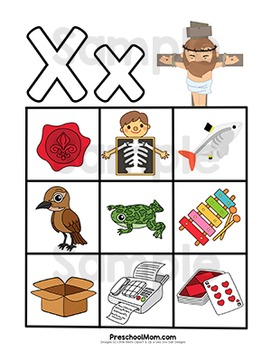 Bible of the x. Abc clipart letter week